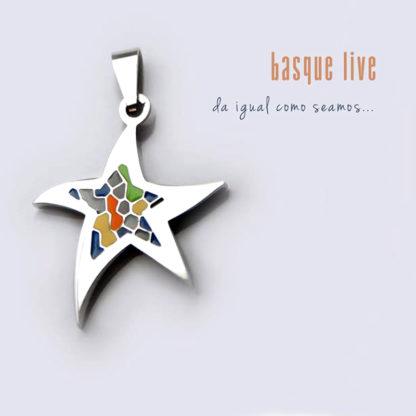 Colgante Estrella Mosaico